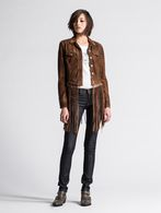 DIESEL L-SUNITA Leather jackets D r
