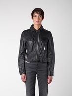 DIESEL L-KOLLI Leather jackets D a