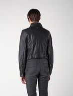 DIESEL L-KOLLI Leather jackets D e