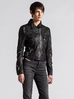 DIESEL L-KOLLI Leather jackets D f