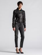 DIESEL L-KOLLI Leather jackets D r