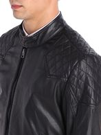 DIESEL LALETA Leather jackets U a