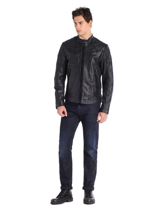 DIESEL LALETA Leather jackets U r