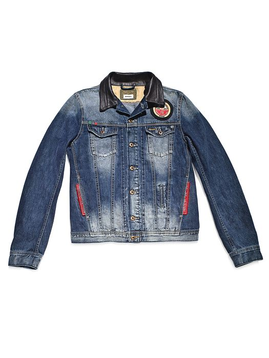 DIESEL REBOOT-DENIM-TRUCKER Jackets U e