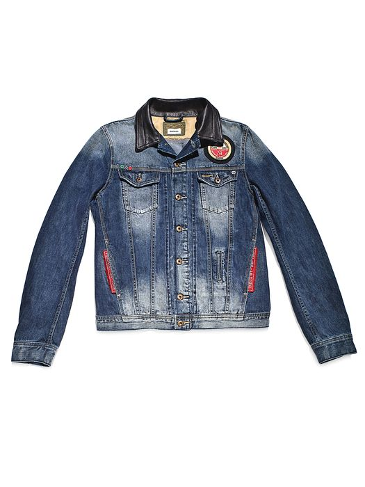 DIESEL REBOOT-DENIM-TRUCKER Jackets U f