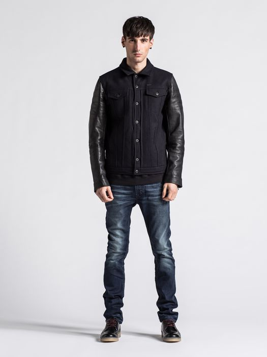 DIESEL LELEA Leather jackets U d