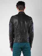 DIESEL L-AYME Leather jackets U e
