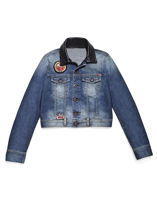 DIESEL REBOOT-DENIM-TRUCKER Jackets D e