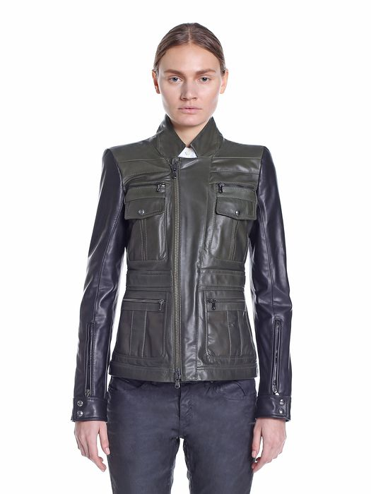 DIESEL BLACK GOLD LOFIRE Leather jackets D f
