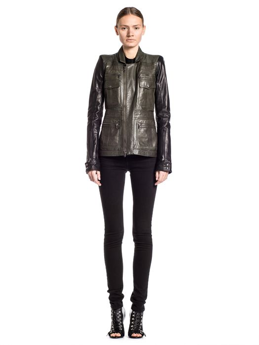 DIESEL BLACK GOLD LOFIRE Leather jackets D r