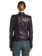 DIESEL BLACK GOLD LORDIN Leather jackets D e