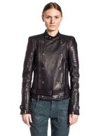 DIESEL BLACK GOLD LORDIN Leather jackets D f