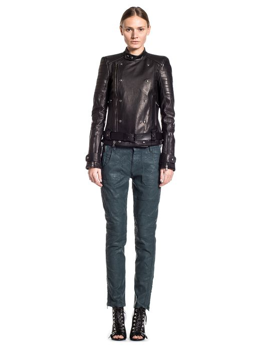 DIESEL BLACK GOLD LORDIN Leather jackets D r