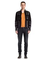 DIESEL BLACK GOLD LUMONDY Leather jackets U d