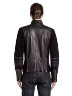 DIESEL BLACK GOLD LUMONDY Leather jackets U e