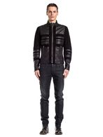DIESEL BLACK GOLD LUMONDY Leather jackets U r