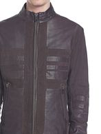 DIESEL BLACK GOLD LUMONDY Leather jackets U a