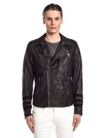 DIESEL BLACK GOLD LERFECTOS Leather jackets U f