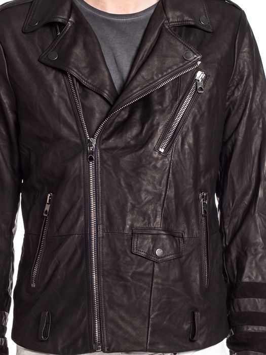 DIESEL BLACK GOLD LERFECTOS Leather jackets U a
