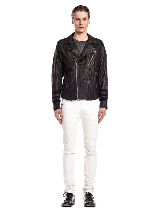 DIESEL BLACK GOLD LERFECTOS Leather jackets U d