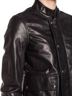 DIESEL BLACK GOLD LAPUL-L Leather jackets D a