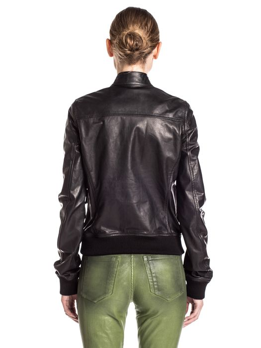 DIESEL BLACK GOLD LAPUL-L Leather jackets D e