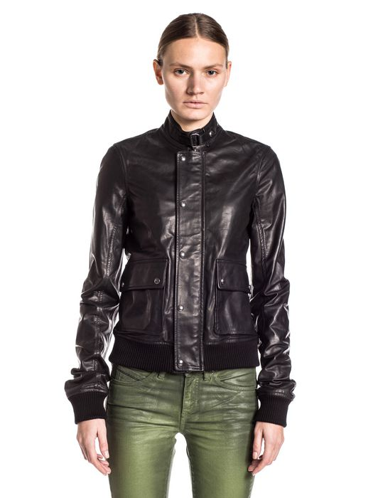 DIESEL BLACK GOLD LAPUL-L Leather jackets D f