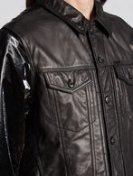 DIESEL L-ELSHAR-V Leather jackets U a