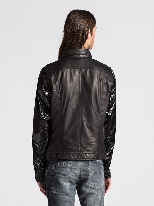 DIESEL L-ELSHAR-V Leather jackets U e