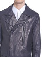 DIESEL BLACK GOLD LIFIRE Leather jackets U a