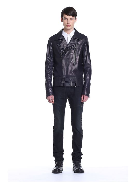 DIESEL BLACK GOLD LIFIRE Leather jackets U r