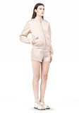 T by ALEXANDER WANG TECHNICAL MEMORY SATIN BOMBER JACKET BOMBER Adult 8_n_e