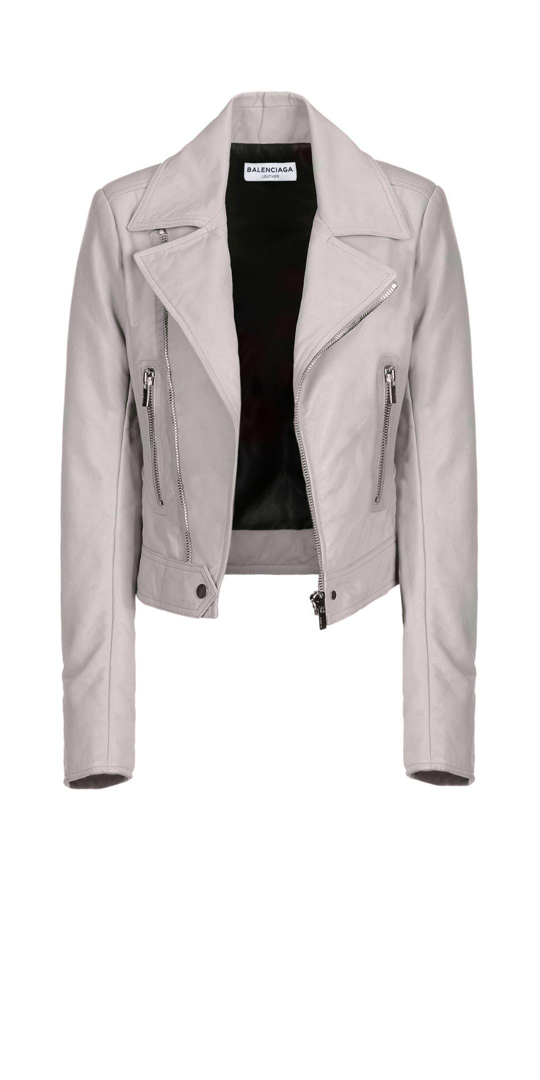 BALENCIAGA Balenciaga New Classic Biker Jacket Jacket D f