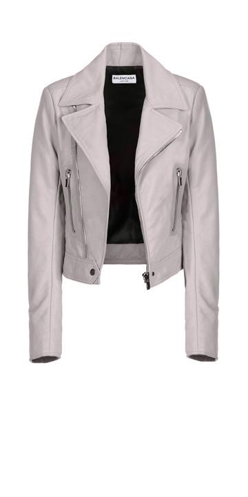 BALENCIAGA Jacket D Balenciaga New Classic Biker Jacket f