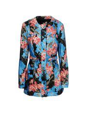 Mid-length jacket Woman LOVE MOSCHINO