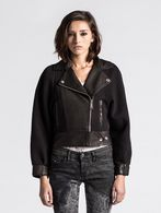 DIESEL L-ACRAB Leather jackets D f