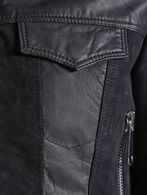 DIESEL L-ZETA Leather jackets D a