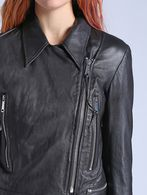 DIESEL L-ANTARES Leather jackets D a