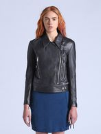 DIESEL L-ANTARES Leather jackets D f