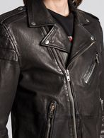 DIESEL L-ILLIANNE Leather jackets U a
