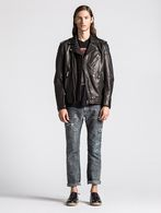DIESEL L-ILLIANNE Leather jackets U r