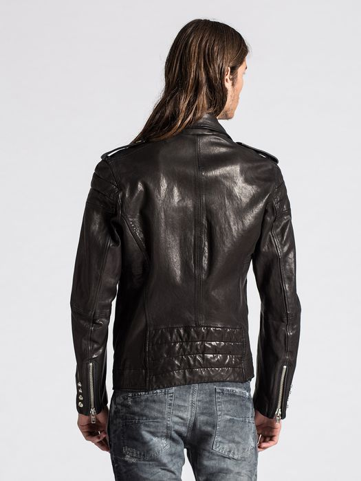 DIESEL L-ILLIANNE Leather jackets U e