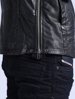 DIESEL L-FOCKE Leather jackets U a