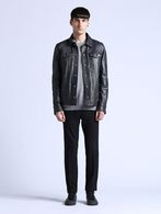 DIESEL L-FOCKE Leather jackets U r