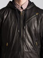 DIESEL L-HASSO Leather jackets U d