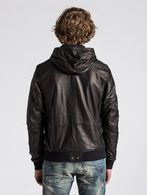 DIESEL L-HASSO Leather jackets U e