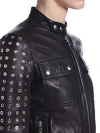DIESEL BLACK GOLD LOLUP Leather jackets D a