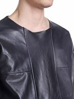 DIESEL BLACK GOLD LERESIO-FS Leather jackets U a
