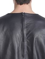 DIESEL BLACK GOLD LERESIO-FS Leather jackets U d