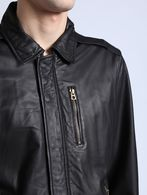 DIESEL L-HEIKO-2 Leather jackets U a